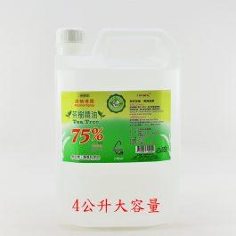 斯儂恩75%酒精(乙醇) 4000ml
