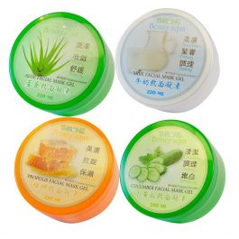 斯儂恩 小黃瓜/蜂膠/蘆薈/牛奶 敷面凝凍 220ml